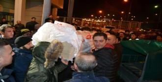 Seymen'in Cenazesi Trabzon'a Getirildi