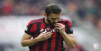 Hakan'ın gol attığı maçta Milan galip