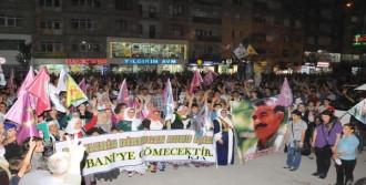 Hakkari Ve Çukurca'da Kobani Protestosu