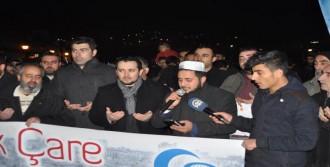 İzmir'de Halep Eylemi