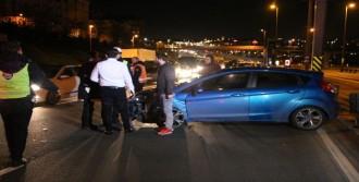 Haliç Köprüsü'nde Kaza