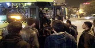 Gaziantep'te Şoförle Tartışan Polise Tepki