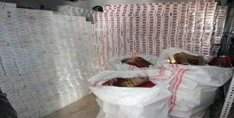 54 Bin Paket Kaçak Sigara!
