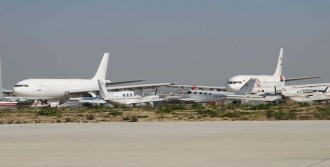 Havacılık Fuarı İçin Hurda Uçaklar Kaldırılıyor