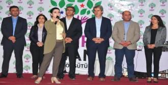 HDP Van'da Milletvekili Adaylarını Tanıttı