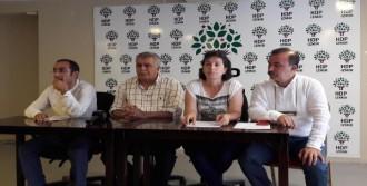 İzmir Valiliği HDP'ye İzin Vermedi