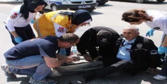 Hırsız, Polisin Bacağını Kırdı