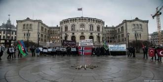 Hocalı Katliamı Oslo'da Protesto Edildi