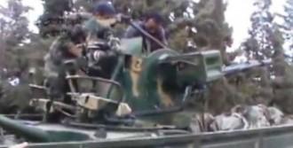 Humus'ta Askeri Havaalanı Ele Geçirildi