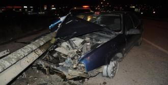 Hurdaya Dönen Otomobilden Sağ Çıktı