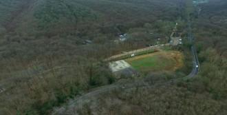 Sarıyer'deki Tabiat Parkına Dikildi