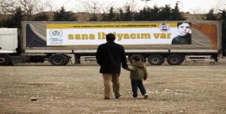 İHH'dan Suriye'ye Yardım TIR'ları