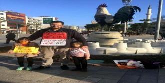 Taciz Olaylarını Protesto Etti