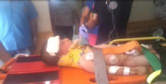 Minik Caner, Ağır Yaralandı