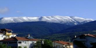Ilgaz Dağları'na Yine Kar Yağdı