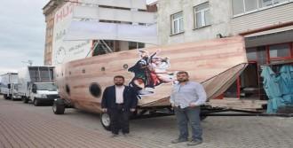 Fatih'in Gemilerinin Minyatürü Yapıldı