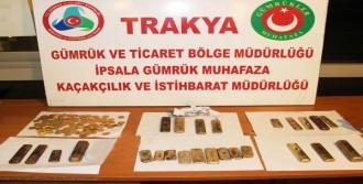 İpsala'da Tarihi Eser Operasyonu