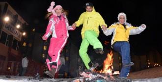 İranlılar Nevruzu Palandöken'de Kutladı