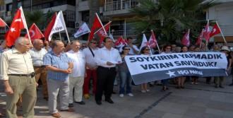 Yunan Konsolosluğu Önünde Basın Açıklaması