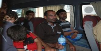 Işid'ten Kaçan 64 Iraklı, Türkiye'ye Sığındı