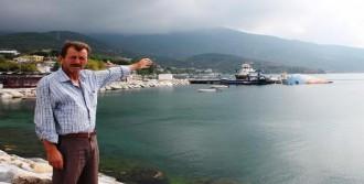 İskelede Batan Gemi Balıkçıları Zor Durumda Bıraktı
