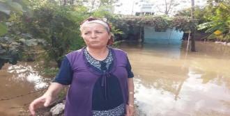 İskenderun'da Evleri Su Bastı