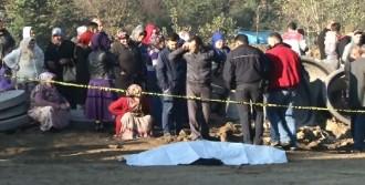 İski Şantiyesinde Kaza