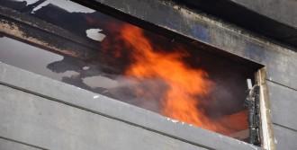 Biber Fabrikasındaki Yangın Korkuttu