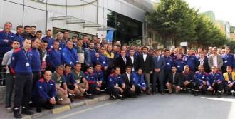 İspark Otoparkçılarını Eğitiyor