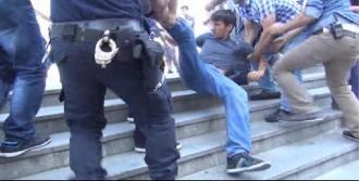 Adalet Sarayında Polis Müdahalesi