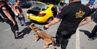 İstanbul'da Taksilere  Polis Denetimi
