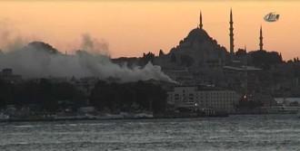 İstanbul'un Göbeği Alev Aldı