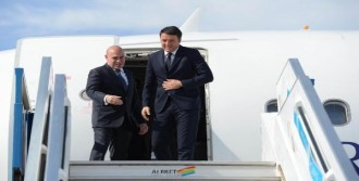 İtalya Başbakanı Renzi, Antalya'da