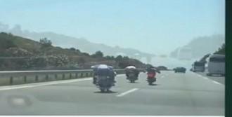 İzmir- Aydın Otoyolu'nda Tehlikeyi Yolculuk