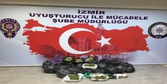 İzmir'de 2 Milyon Lira Değerinde 70 Kilo Bonzai Ele Geçti