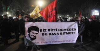 İzmit'te Ali İsmail Korkmaz Kararı Protestosu