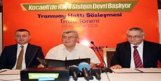 İzmit'te Tramvay Hattının Yapımına Başlanıyor
