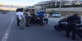 Jandarma 887 Motosikleti Denetledi