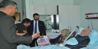 Jandarmalardan Kanser Hastalarına Ziyaret