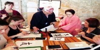 Japon Kültürünü Bodrum'da Tanıttılar