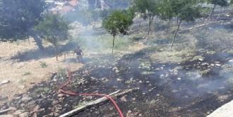 Kadifekale'de 1 Dönüm Alan Yandı