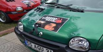 Otomobilleriyle Mesaj Verdiler
