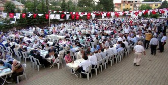 Kahramanmaraş'ta 2 Bin Kişiye İftar
