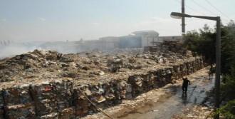 Atık Kağıt Fabrikasında Yangın (3)