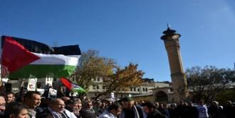 Kahramanmaraş'ta 'Kudüs' Tepkisi