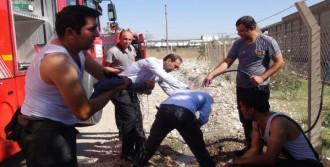 Kahramanmaraş'ta Pamuk Fabrikasında Yangın