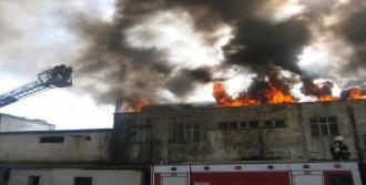 Yağ Fabrikasında Yangın Paniği!