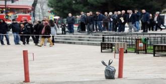 Samsun'da Şüpheli Paket Korkuttu