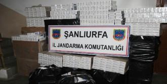 Kamyon Kasasında 20 Bin Kaçak Sigara