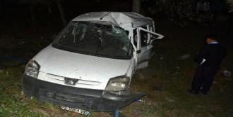 Karabük'te Hafif Ticari Araç Takla Attı: 4 Yaralı